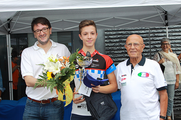 Premiazione Magri, 1° classificato (Foto Kia)