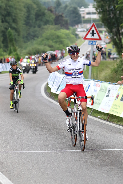Alessandro Ceci vince a Villaguardia (Foto Kia)