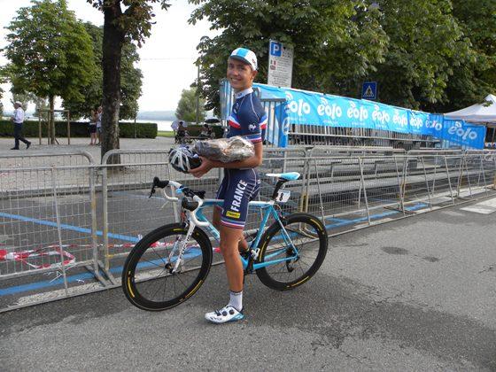 Benoit Cosnefroy, eroe di giornata alla Coppa dei Laghi (Foto Nastasi)