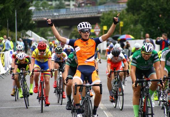 Giorgio Cometti, 7° vittoria ad Albino (Foto Berry)