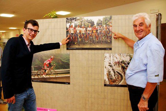 Inaugurazione Mostra Fotografica e Storica Giro del Trentino,
