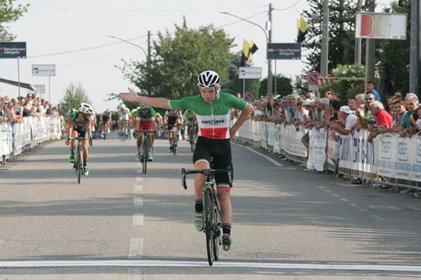 Consonni vince nettamente a Carnago (Foto Pisoni)