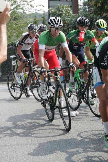 Il Tricolore Davide Orrico in azione (Foto Pisoni)