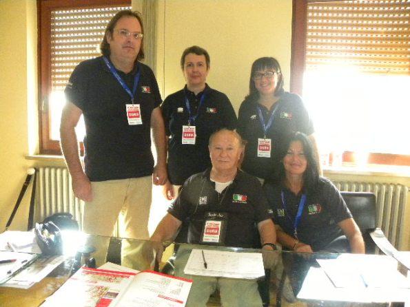 Giuria FCI a Carnago (Foto Nastasi)