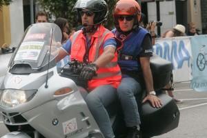 Giudice in moto nel 50^ Trofeo Raffaele Marcoli (Foto Pisoni)