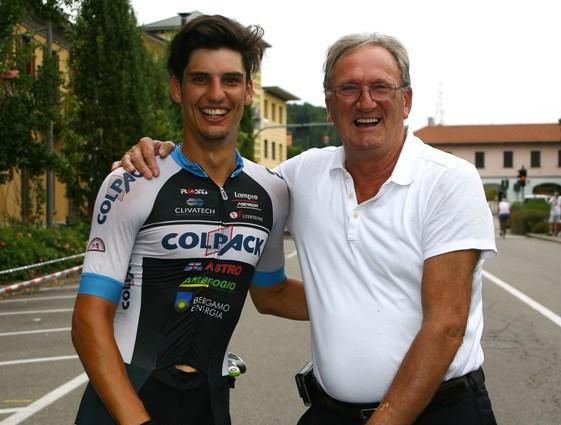 Toniatti con Beppe Colleoni (Berry)