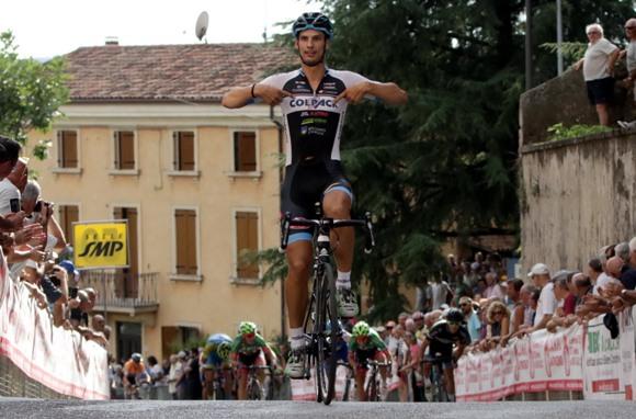 Andrea Toniatti terza vittoria stagionale a Sona (Photobicicailotto)