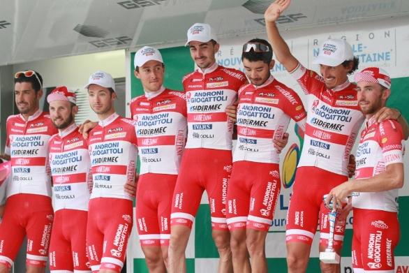 Androni-Giocattoli/Sidermec al Giro della Cina