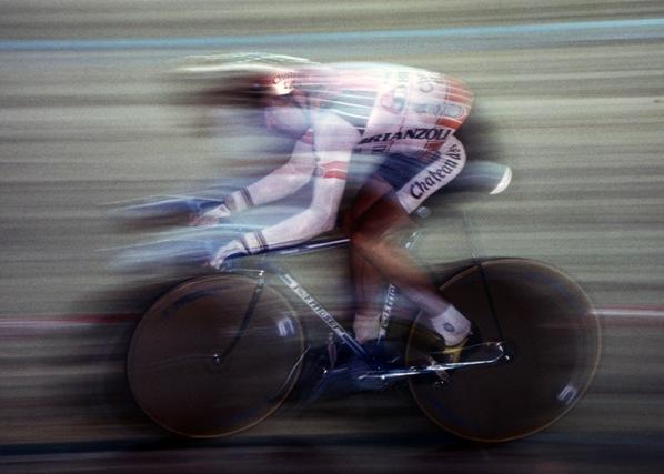 Francesco Moser nel Klik di Fabrizio Delmati
