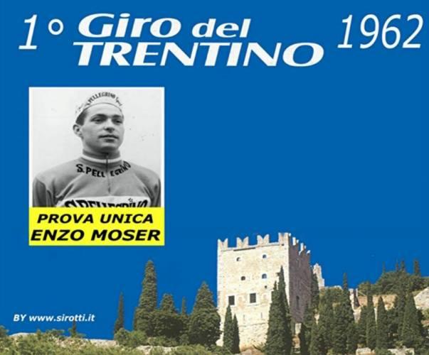 Locandina del 1^ Giro del Trentino