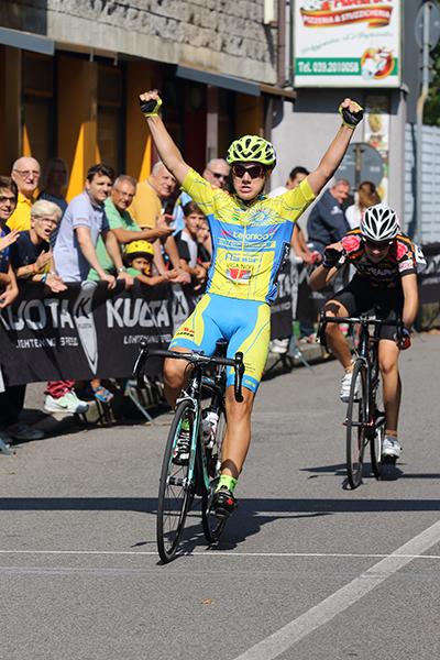 Massimiliano Pini vince a Sovico (Foto Kia)