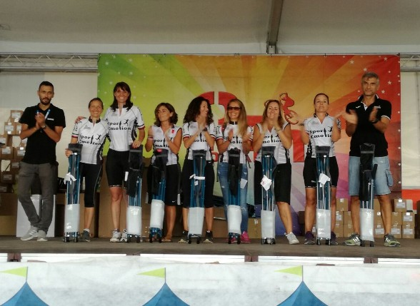 Premiazione gruppo girls
