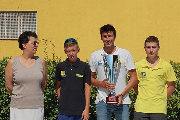 Premiazione Ciclistica Trevigliese (Foto Kia)