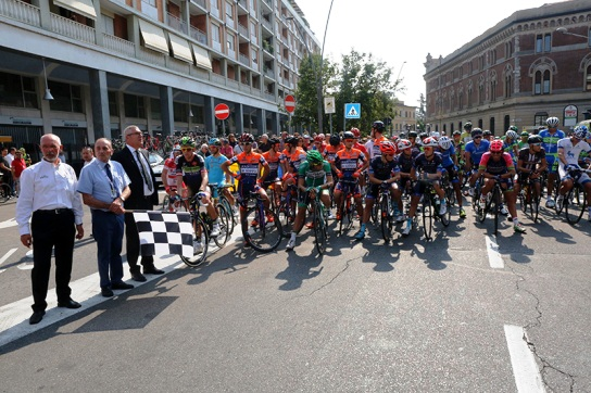 Sindaco di Legnano, Alberto Centinaio, pronto a dare il via (Foto Pisoni)