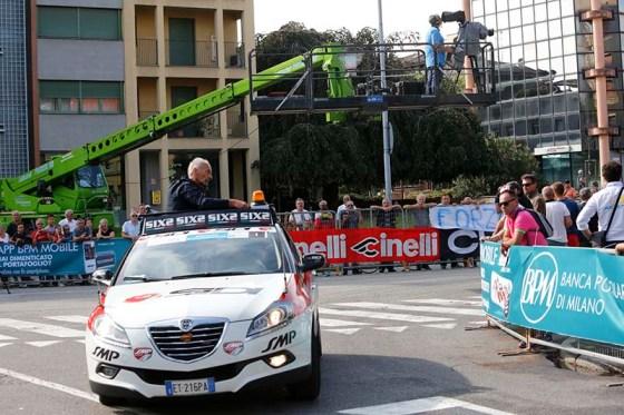 Il Direttore di corsa (Foto Pisoni)