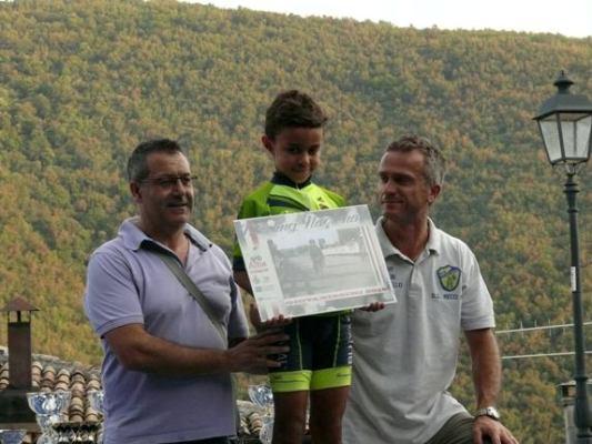 Brian Paris col Presidente Spaziani
