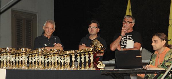 I premi della gara giovanissimi (Foto Kia)