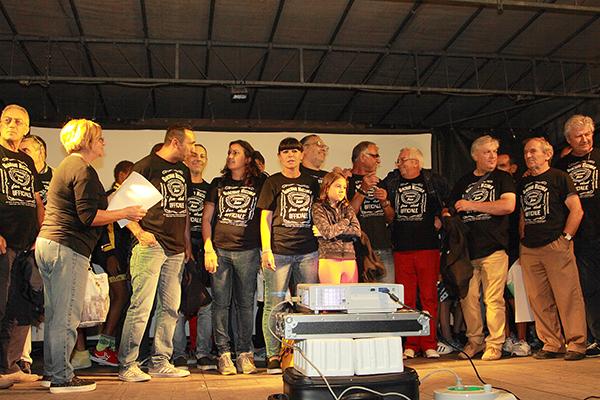 I Soci del Fans Club Giacomo Nizzolo (Foto Kia)