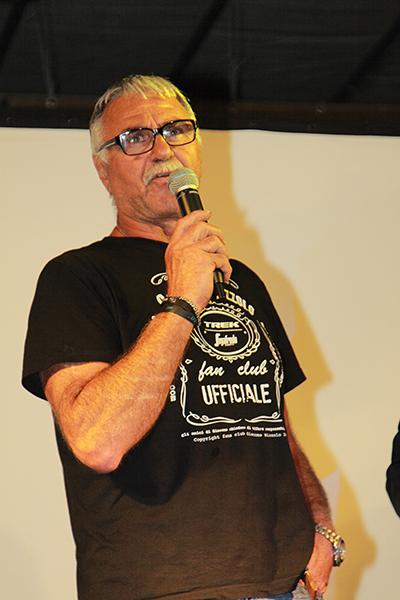 """Paolo Nizzolo, """"trascinatore"""" del Fans Club (Foto Kia)"""