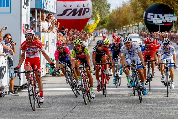 Memorial Marco Pantani 2016 - la vittoria di Francesco Gavazzi