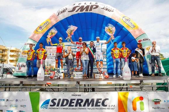 Memorial Marco Pantani 2016 - Podio