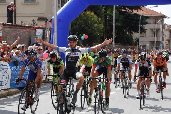 ° Attilio Viviani 1° a Bernareggio (Foto Pisoni)