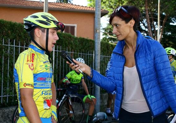Pini intervistato da Eleonora Capelli (Foto Berry)