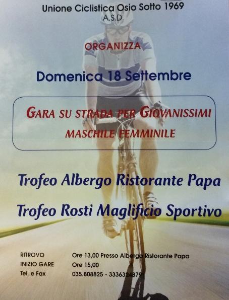 18.9.16 - LOCANDINA GARA OSIO SOTTO