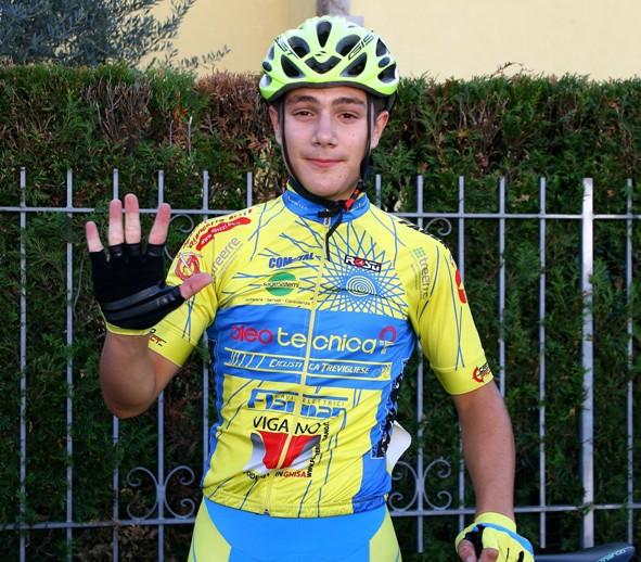 Pini indica 5 come le sue vittorie in questa stagione (Foto Berry)