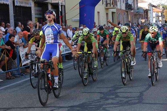 Netta vittoria di Harakhavik a Sannazzaro (Foto Pisoni)