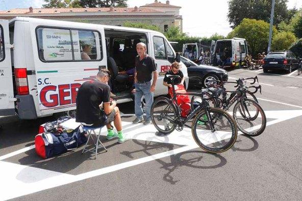 SC Gerbi oggi vittima di un furto di 3 biciclette (Foto Pisoni)