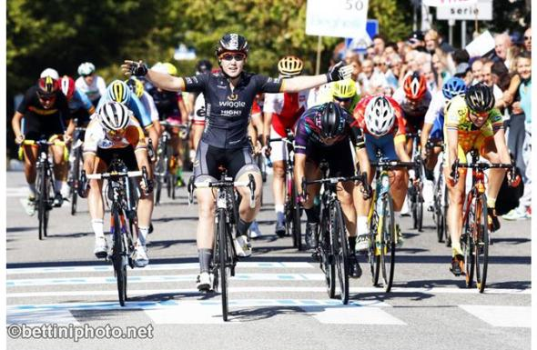 L'australiana Hosking vince il Beghelli Donne Elite (Foto Bettini)