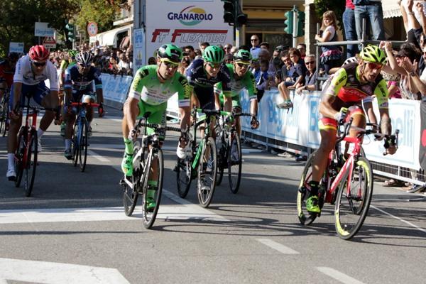 Lo sprint di Monteveglio (Photobicicailotto)