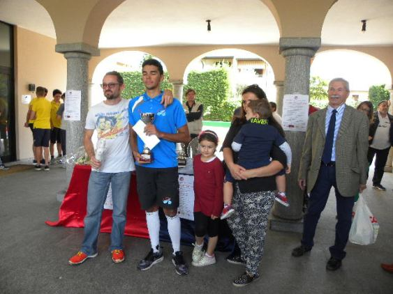 Premiazione TV vinto da Andrea Bauccio (Foto Nastasi)