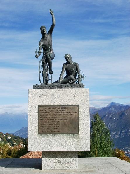 Monumento al Ciclista Piazzale Santuario Madonna del Ghisallo