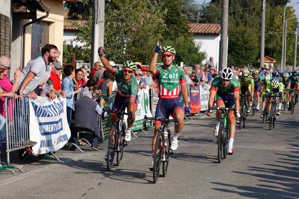 Marco Maronese 1° ad Alzano Scrivia (Foto Pisoni)