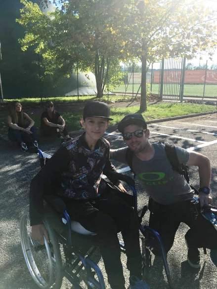 Mark Cavendish con Christian