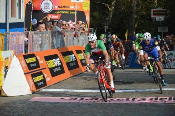 Nizzolo vince ad Agliè il 100° Giro del Piemonte ora Gran Piemonte (Foto Claudio Mollero)