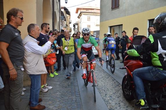 Nizzolo accompagnato da Nando Piazza (Foto Mollero Claudio)