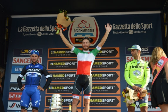 Podio del 100° Gran Piemonte (@Claudio Mollero)