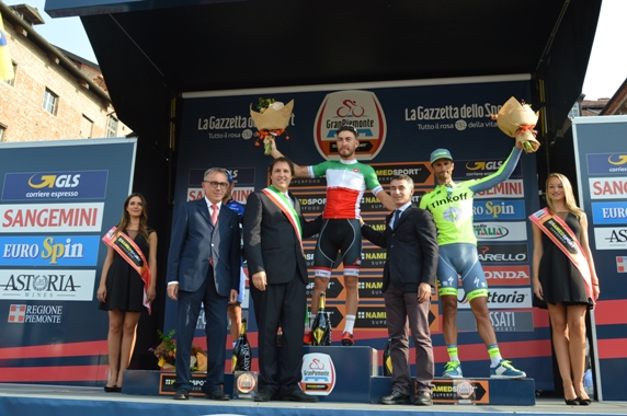 Nizzolo, podio ed Autorità (@Claudio Mollero)