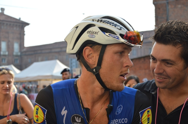 Trentin con Simone Salet (@Mollero Claudio)