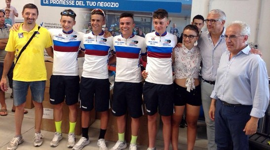 Lazio : Campioni Regionali Allievi Cronosquadre 2016