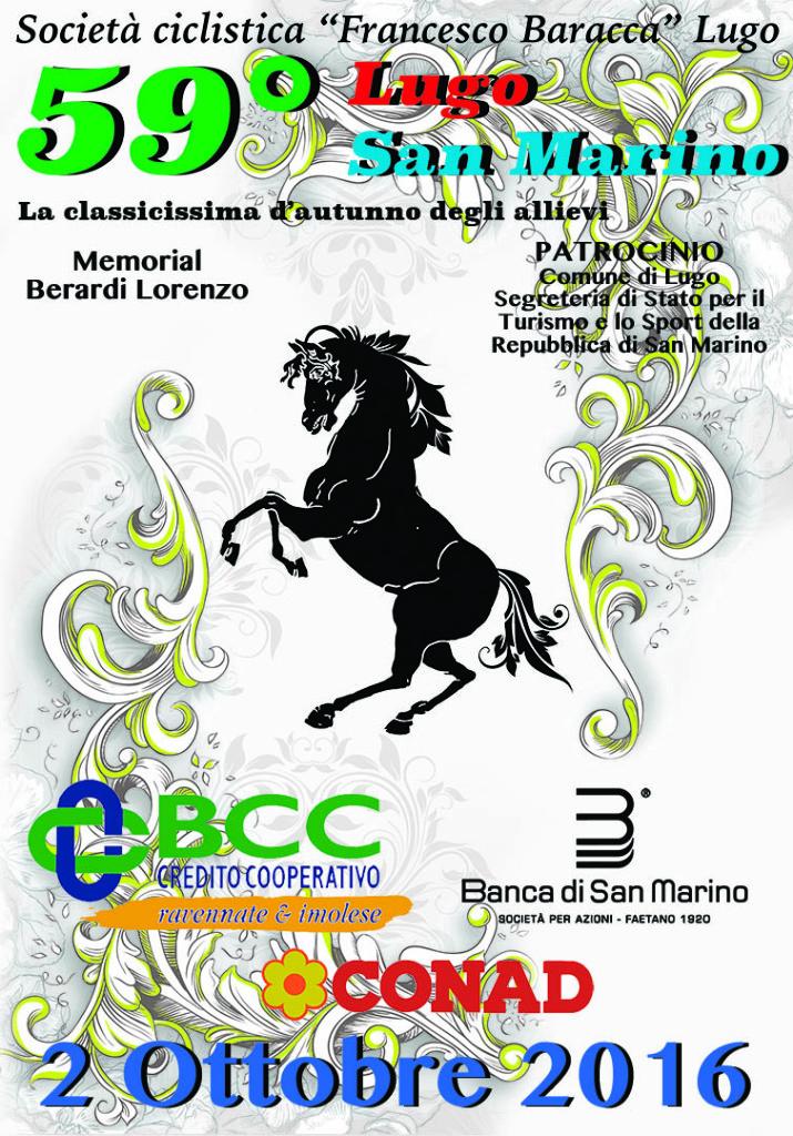 28.09.2016 – Lugo (Area Ravenna) – Allievi : Dalla città dell'Eroe Francesco Baracca alla Terra della Libertà