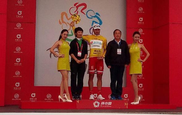 Marco Benfatto - vincitore 2^ tappa del Giro di China 1