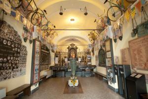 Interno Santuario Madonna del Ghisallo
