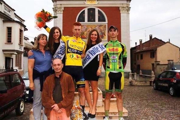 1° classificato Mirco Sartori e 3° classificato Gregorio Ferri (Foto Pisoni)