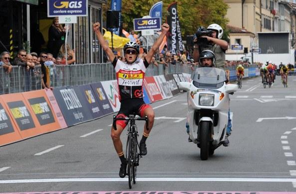 Gabriele Benedetti vince 66° Gran Premio L'Eco di Bergamo (Foto Rodella)