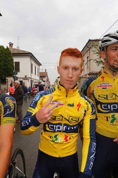 Mirco Sartori indica 2 come le sue vittorie stagionali (Foto Pisoni)