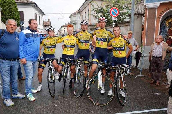 La squadra Mastromarco a Molino dei Torti (Foto Pisoni)